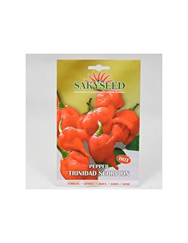 Semi Peperoncino Trinidad Scorpion(PIU' PICCANTE AL MONDO!), Bustina da 5-10 grammi