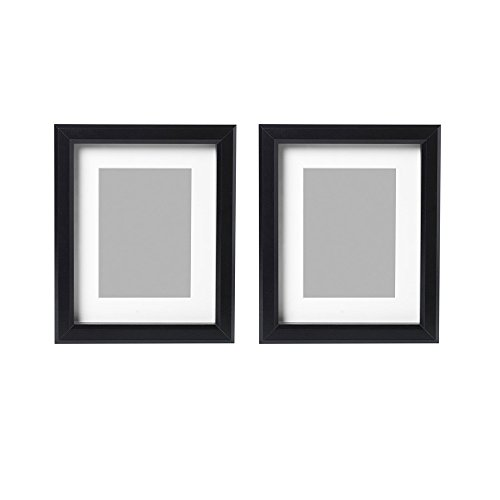 IKEA Ribba 8x10 Picture Frame. Black. Set of 2
