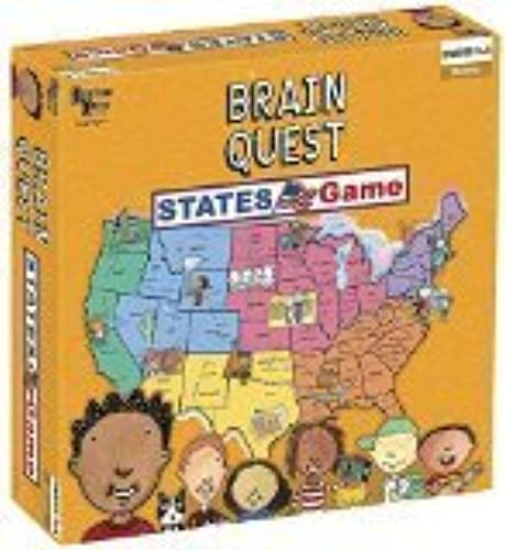 Brain Quest - States Game by University Games