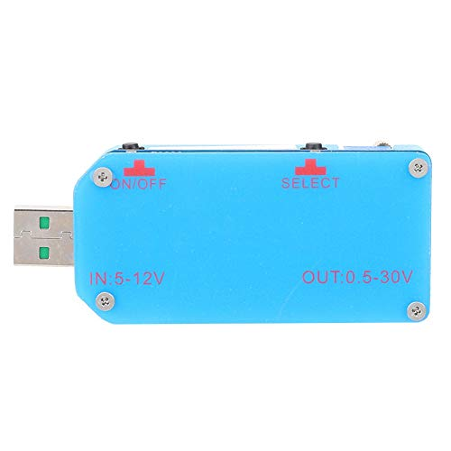 Price comparison product image Jeanoko Power Supply Module Voltage Boost Module 5~12V to 0.5~30V 2A USB Up / Down 15W for Smart Home Appliances
