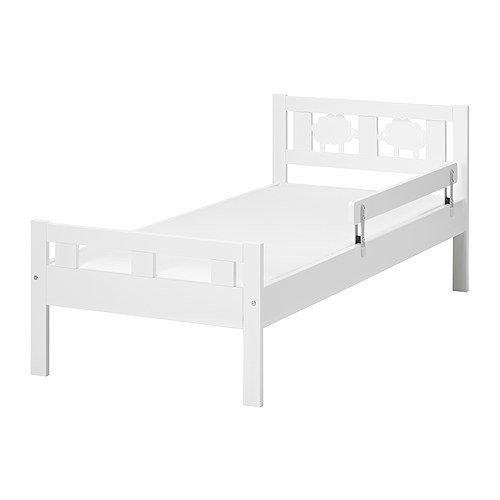 IKEA KRITTER Jugendbettgestell mit Lattenrost 70x160 mit Absturzsicherung Massivholz Kiefer