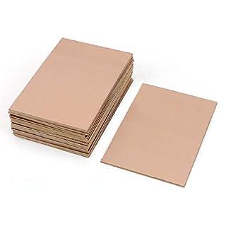 MCIGICM FR-4 Copper Clad PCB Laminate Circuit Board, Single Side, 4 x 2.7 inch (10Pcs) (B01MCVLDDZ)   Amazon price tracker / tracking, Amazon price history charts, Amazon price watches, Amazon price drop alerts