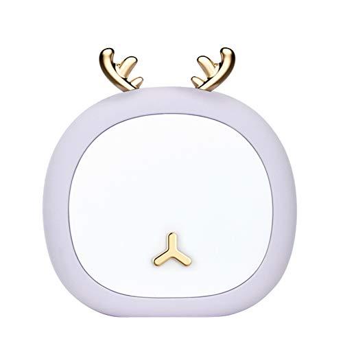 Xbd Lámpara Escritorio LED,luz de Noche Recargable por USB,protección Ocular Lámpara de Mesa,lámpara de Mesa de Lactancia para Lactancia en el Dormitorio,Apta para salón,Dormitorio,Oficina