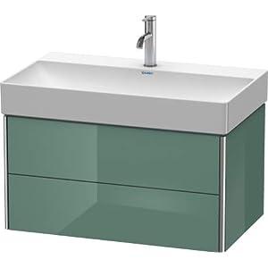 Duravit XSquare Mueble de Pared 78.4×46.0 cm, 2 cajones, para Lavabo DuraSquare 235380, Color (Frente/Cuerpo…