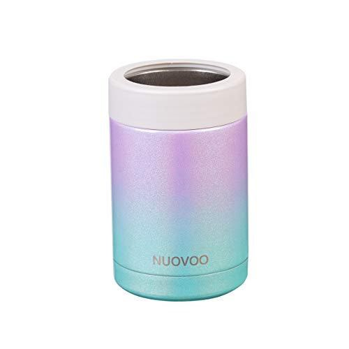 Nuovoo 12 Oz Can Cooler, Double Walled, Stainless Steel Bottle Cooler FInsulator or Cans or Bottles...