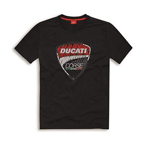 Ducati Corse T-Shirt Sketch schwarz Größe L