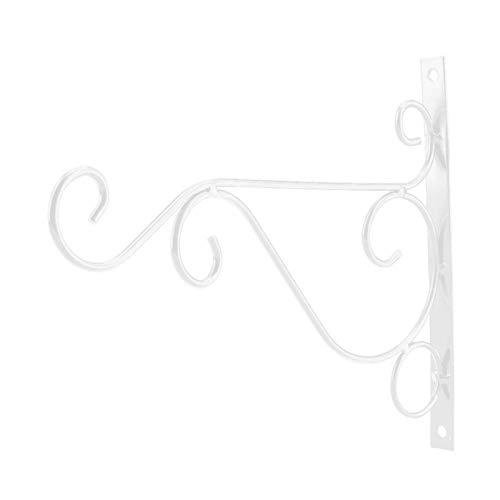 Omabeta 30 * 21cm Eisenaufhänger Einfache Installation für den Innenhof(White)