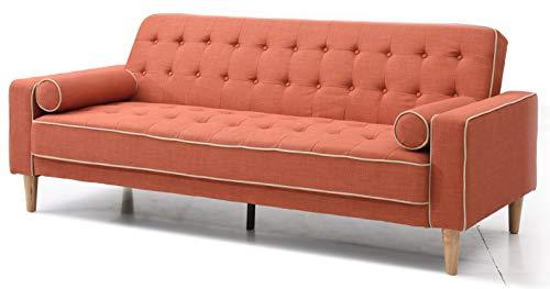 Glory Furniture Futon Sofa Bed, Orange