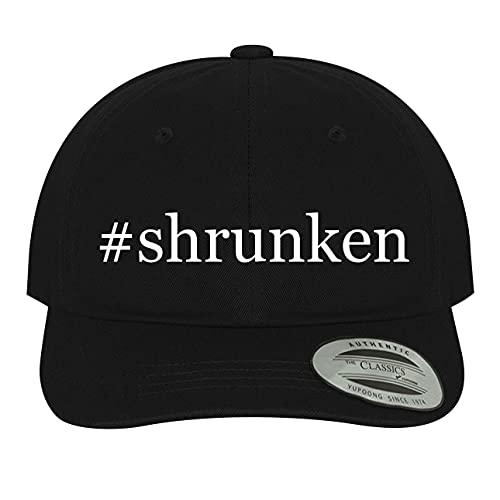 #Shrunken - Hashtag Soft Black Dad Hat Baseball Cap, One Size