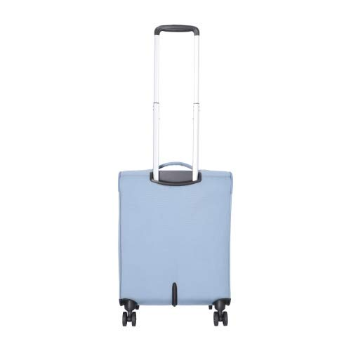 American Tourister Summerfunk Maleta con 4 Ruedas Azul-Gris 55 cm