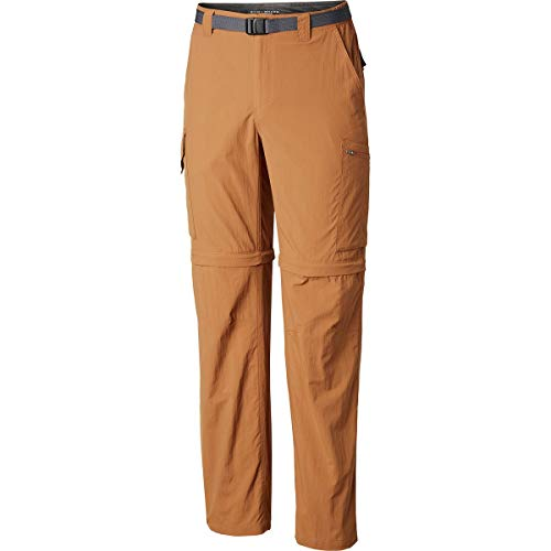 Columbia Silver RidgeTM - Pantalón Convertible para Hombre, Silver RidgeTM Pantalón Convertible para Hombre, Hombre, Color Camel MARRÓN, tamaño 44W / 36L