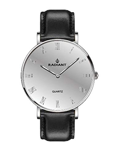Radiant Reloj Analógico para Hombre de Cuarzo con Correa en Cuero RA379605
