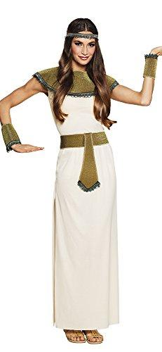 Boland-Cleopatra costume donna (Taglia 40/42) adulto, Bianco, Oro, M, BOL83694