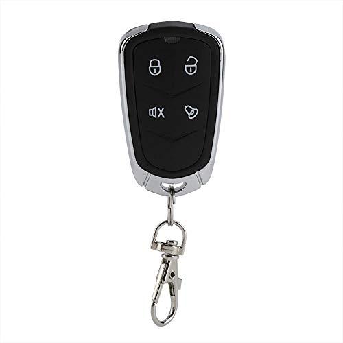 Fdit Universele Afstandsbediening Auto Plafond Ventilator Mini Kit Ontvanger 433 MHz Frequentie Garage Gate Alarm Deur Opening 4-Button Zwart