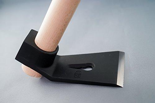 Azuela recta con martillo de carpintero