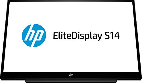 HP EliteDisplay S14 LED display 35,6 cm (14') Full HD Nero