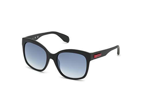 adidas OR0012 Gafas, matte black/smoke mirror, 54 para Mujer