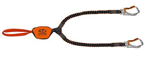 Climbing Technology Hook-It Slider, Set Ferrata Unisex – Adulto, Arancio/Grigio, Taglia Unica