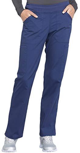 Workwear Professionals Women's V-Neck Top WW665 & Pull-On Pant WW170 Scrub Set