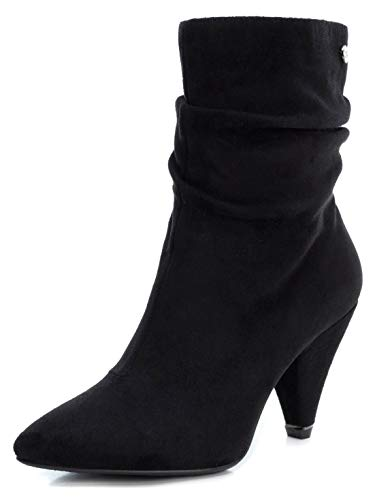 XTI Damen 35094 Kurzschaft Stiefel, Schwarz (Negro Negro), 41 EU