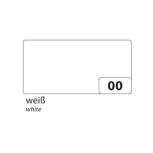 Folia 6400 - gekleurd papier wit, DIN A4, 130 g/m², 100 vellen - voor het knutselen en creatief vormgeven van kaarten, vensterfoto's en voor scrapbooking