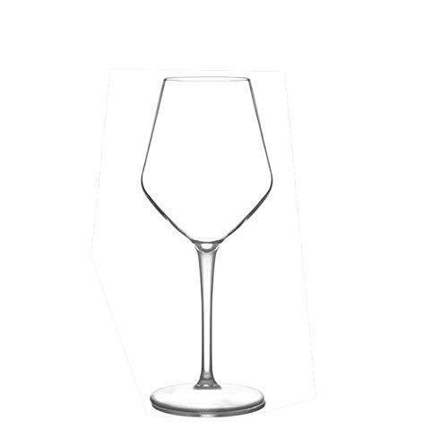 Material Copa de vino de plástico irrompible Copa de jugo rojo transparente 225 * 59 mm-1 PCS_301-400 ml
