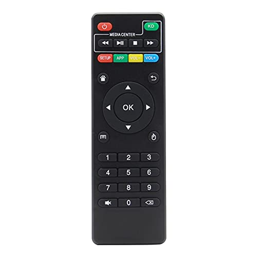 per Il Telecomando Universale per X96 X96 Mini X96W Android TV Box IR Controller IR per X96 Mini X96 X96W Set Set Top Box con Funzione KD (Color : Black)