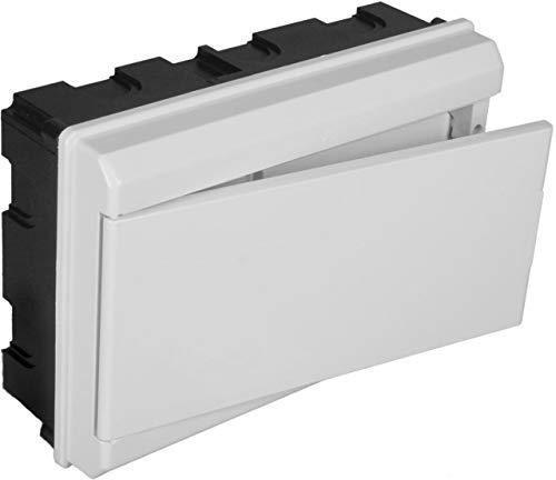 Solera 679CB - Conjunto de caja, tapa,marco y puerta blanca.Distribución 8 elementos....