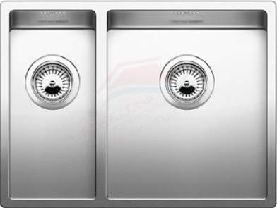 Fregadero de cocina blanco Claron 340/180-U vs dx