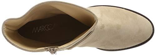 Marc Cain Ankle Boot, Stivali Arricciati Donna, Beige (Sahara 626), 37 EU