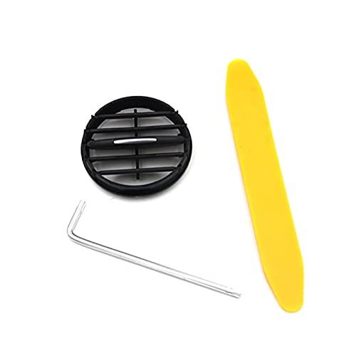 Shutters Ajuste para 10-17 Tiguan Instrument Desk Aire Acondicionado Salida Aire Acondicionador Aire Acondicionado Tuyere Plegable Accesorios Escritorio Air Condit (Color Name : Middle 1pcs)