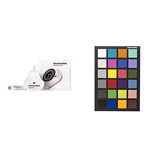 Datacolor SpyderX Elite – Monitorkalibrierung entwickelt für Experten, Profi-Fotografen sowie für die Videobearbeitung (SXE100) & SpyderCHECKR 24 - SCK200