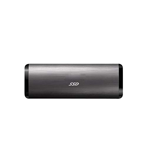 SSD External Solid State Drive, 1tb 500gb Usb 3.1 Gen1type-c Portable Mobile Hard Drive, Suitable for Desktop Computers, Laptops, Smart Phones, Tvs and Other Devices (Capacity : 1TB, Color : Black)
