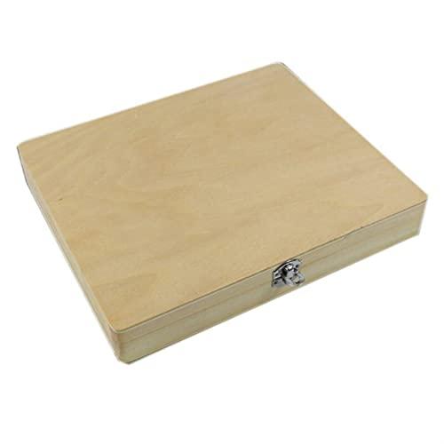 Scatola porta attrezzi in plastica con manico 100 posizioni, per microscopio digitale, scatola portaoggetti biologica in legno