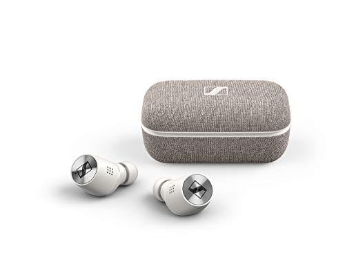 MOMENTUM True Wireless 2 Sennheiser, écouteurs Bluetooth à réduction active du bruit, Blanc