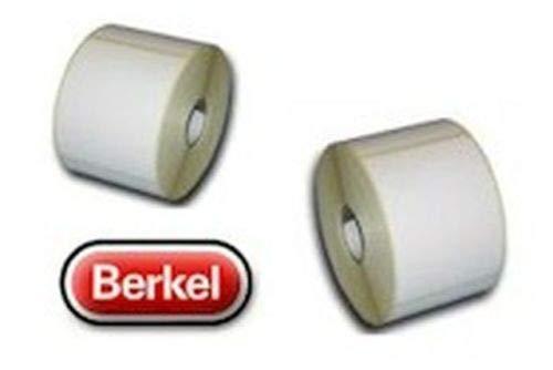 10 Rollen = 8.500 Etiketten Thermoetiketten für Bizerba 68 x 55mm