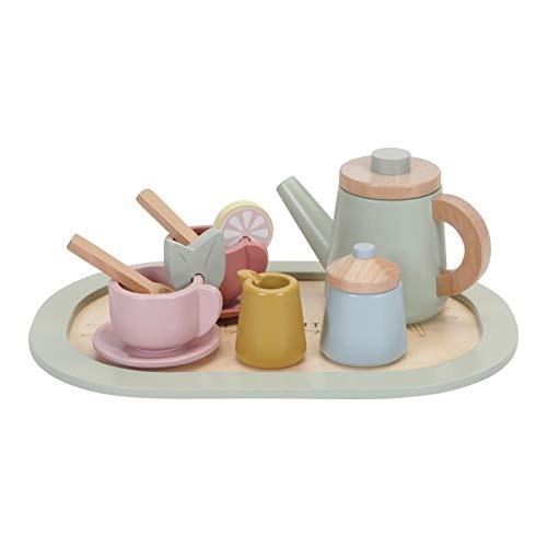 Tiamo Little Dutch 7006 Juego de té de madera pastel