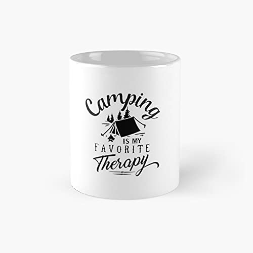 Camping is My Favorite Classic Mug Best Gift Funny Coffee Mugs 11 Oz
