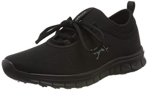 KangaROOS Damen K-Run Neo S Sneaker, Schwarz (Jet Black/Mono 5500), 38 EU