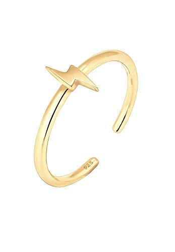 Elli Ring Damen Blitz Flash Stardust Trend in 925 Sterling Silber