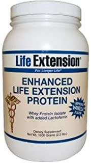Life Extension Enhanced Life Extension Protein, Vanilla, 1 Pound