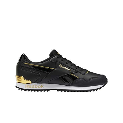 Reebok Royal Glide RPLCLP, Zapatillas de Running, Negro/Negro/Dormet, 35 EU