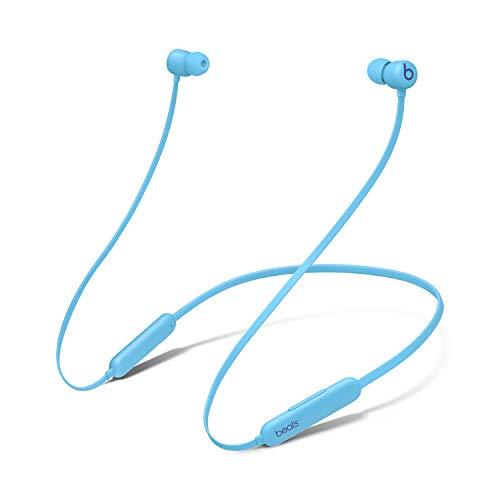 Auriculares inalámbricos BeatsFlex – Chip AppleW1, Auriculares magnéticos, Bluetooth de Clase1, 12Horas de Sonido ininterrumpido - Azul
