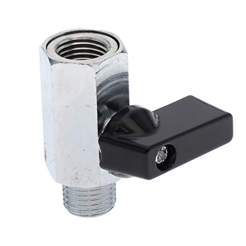 B Baosity 1/4'' Cierre y Conexión de Acero Inoxidable para Boquilla de Sistema de Aire de Pulverización 45x40mm