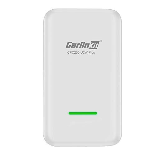 Ousyaah Wireless CarPlay Activator para Automóviles con Cable de Fábrica CarPlay, USB Carplay Dongle para Audi/Volkswagen/Poru/Porsche/Volvo/Mercedes-Benz, Compatible con iOS10 o Superior (Blanco)