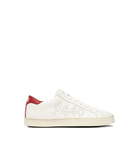 P448, John Cream/Red Beige Sneaker, F20JOHN Cream/Red, Beige (beige), 46 EU
