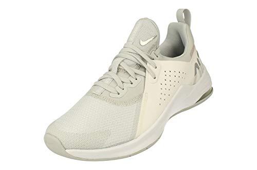 Nike Mujeres Air MAX Bella TR 3 Running Trainers CJ0842 Sneakers Zapatos (UK 4.5 US 7 EU 38, Pure Platinum Silver 002)