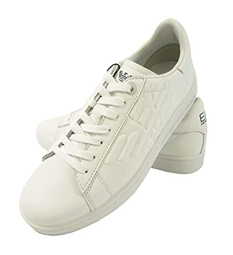 [エンポリオアルマーニ] スニーカー メンズ シューズ 靴 ホワイト EA7 (メーカーサイズ:8.5) A-2777 [並行輸入品]