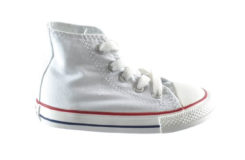 Converse Chuck Taylor All Star High top Infants Casual Shoes Optical White 7j253 6 M US