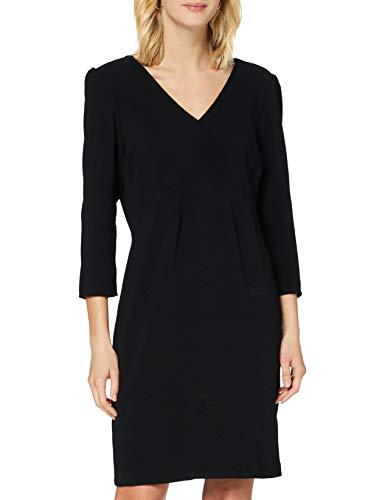 Naf Naf E- Bella R1 Vestido, Noir, 38 para Mujer